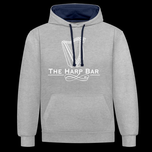Logo The Harp Bar Paris - Sweat-shirt contraste