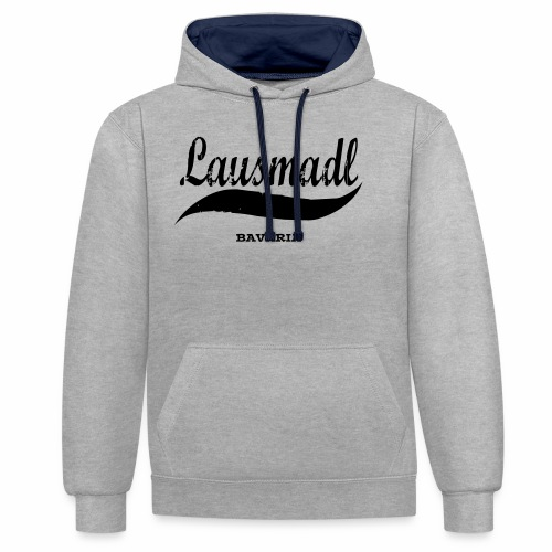 LAUSMADL BAVARIA - Kontrast-Hoodie