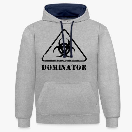 DOMINATOR - Kontrast-Hoodie