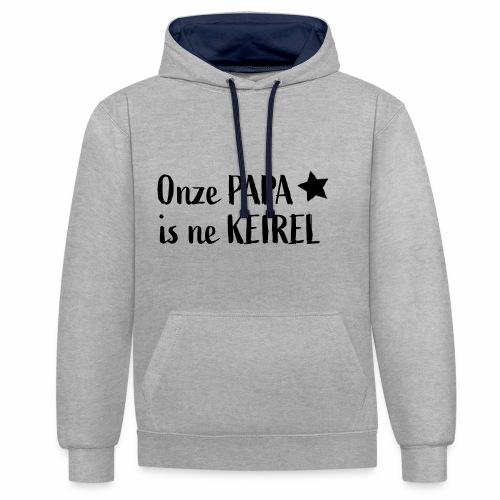 Papa Keirel - Contrast hoodie