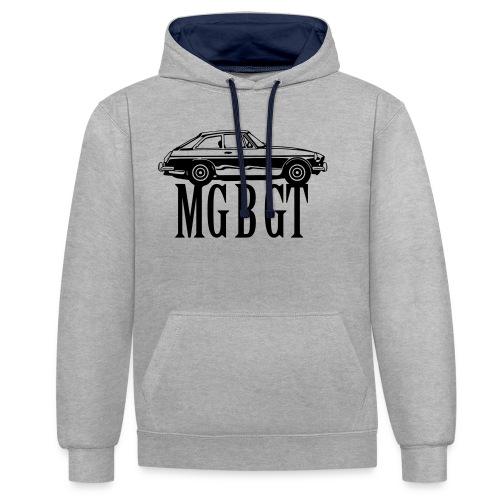MG MGB GT - Autonaut.com - Contrast Colour Hoodie