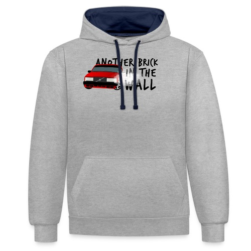 Another brick in the wall - Sweat-shirt contraste