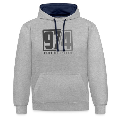 Collection 974 Reunion Island #2 - Sweat-shirt contraste