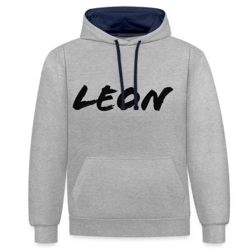 Leon - Sweat-shirt contraste