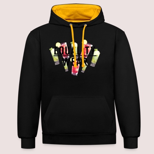 Equality Wear Summer Edition - Contrast Colour Hoodie