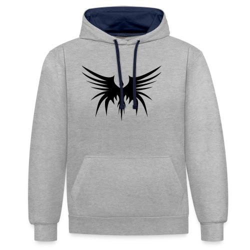 Phoenix Noir - Sweat-shirt contraste
