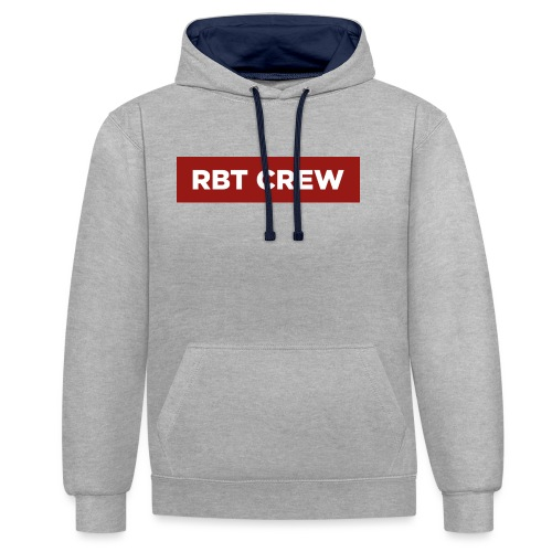 Reste Bien Tranquille ! - Sweat-shirt contraste