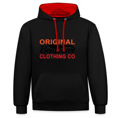 Original Beawear Clothing Co - Contrast Colour Hoodie