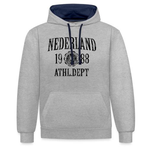 T-shirt Nederland - Contrast hoodie