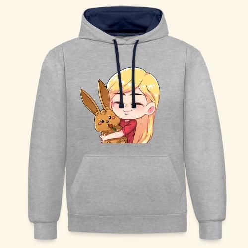 Bunnyhug - Kontrast-Hoodie