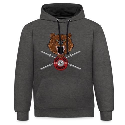 Bear Fury Crossfit - Sweat-shirt contraste