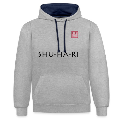 Shu-ha-ri HDKI - Contrast Colour Hoodie