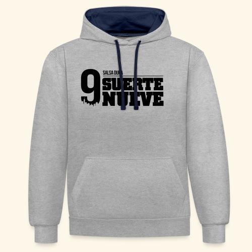 Logo Suerte - Sweat-shirt contraste