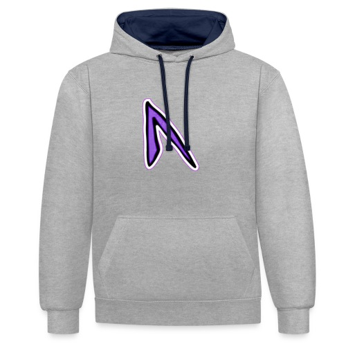 Ghost - Contrast Colour Hoodie