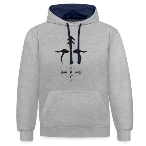 Floki magical stave - Contrast Colour Hoodie