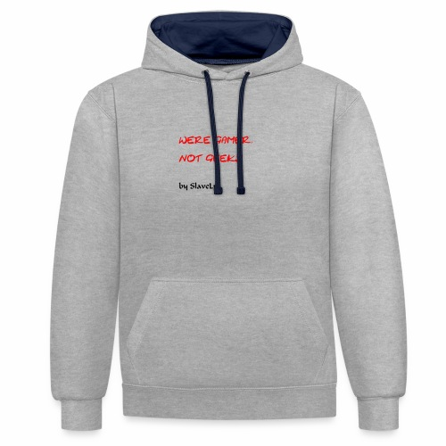 SlaveLp Merch - Contrast Colour Hoodie