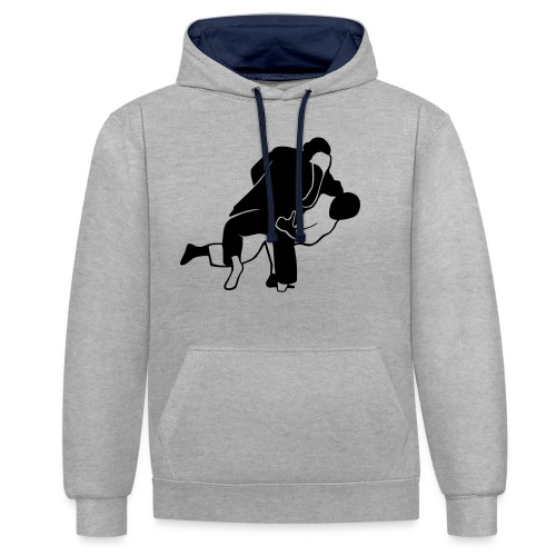 Ausheber | Ura-nage T-Shirts - Kontrast-Hoodie