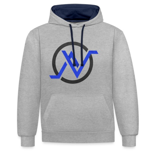 Logo 3 Sweat png - Sweat-shirt contraste