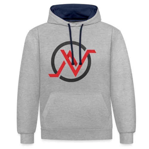N rouge png - Sweat-shirt contraste