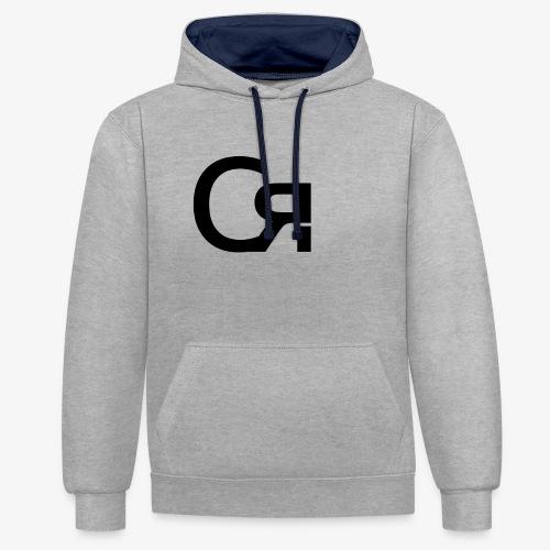 logo cr - Sweat-shirt contraste