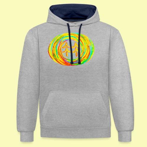 B.W.U Design Competition Design #3 - Contrast Colour Hoodie