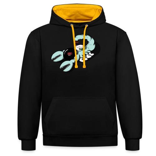 Space Scorpions?! (Colour) - Contrast Colour Hoodie