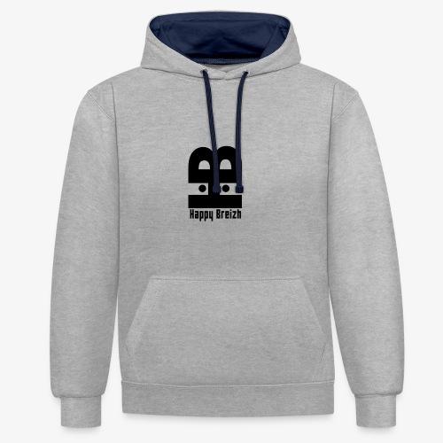 happy breizh logo - Sweat-shirt contraste