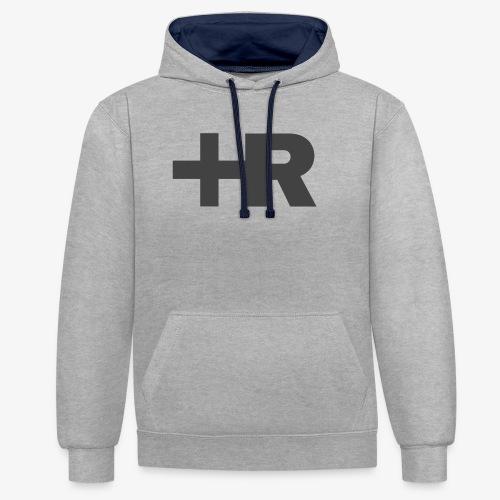 AIR PLUSSER - Contrast hoodie
