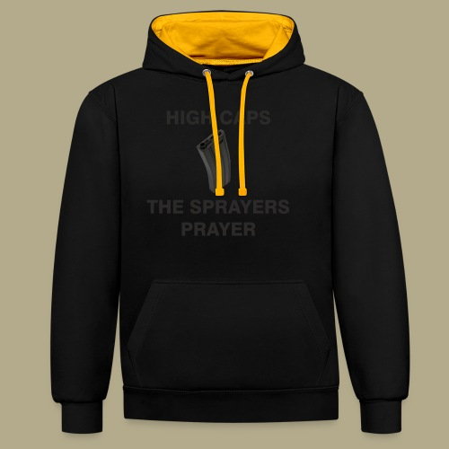 Sprayers Prayer - Contrast hoodie