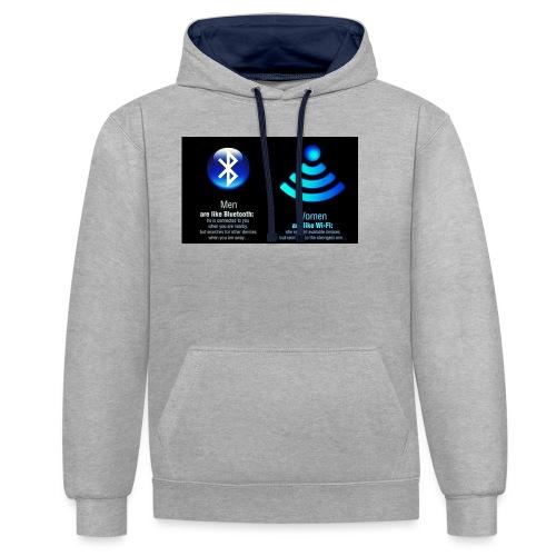 WIFI - Contrast hoodie
