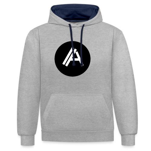 Logo Andyboy - Kontrast-Hoodie