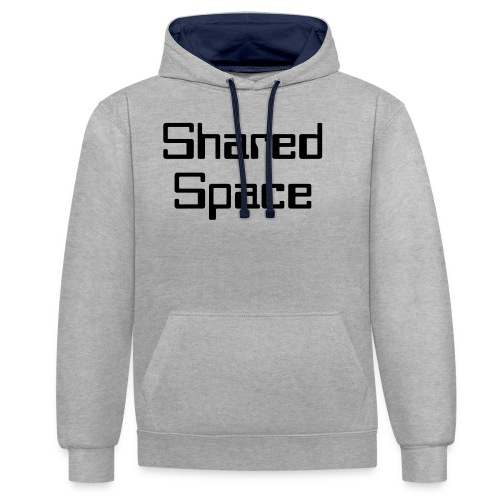 Shared Space - Kontrast-Hoodie