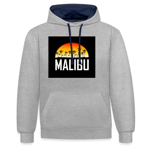 Malibu Nights - Contrast Colour Hoodie