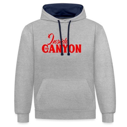 CANYON - Sweat-shirt contraste