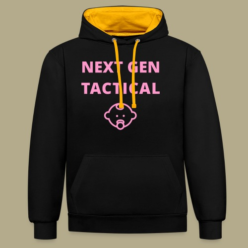 Tactical Baby Girl - Contrast hoodie