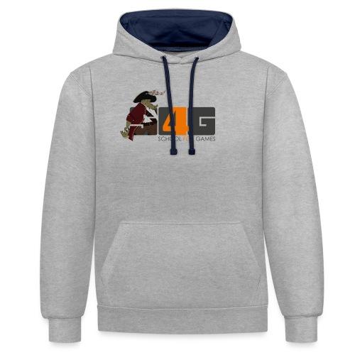 Tshirt 01 png - Kontrast-Hoodie