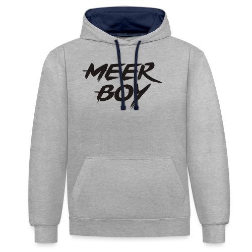 Meer Boy - Kontrast-Hoodie