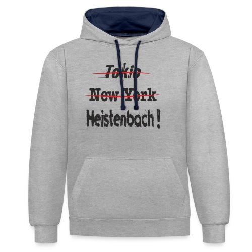65558 Heistenbach - Kontrast-Hoodie