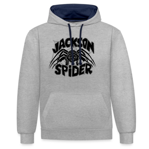 jackson spreadshirt - Kontrast-Hoodie