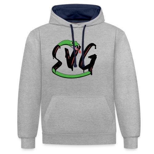 Savage Snake - Contrast hoodie