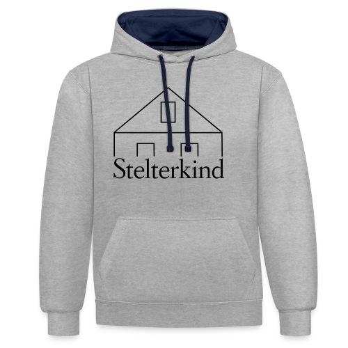 Stelterkind - Kontrast-Hoodie