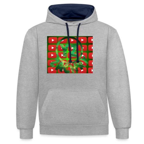 YZ-Muismatjee - Contrast hoodie