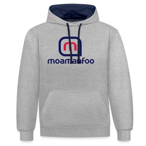 Moamanfoo - Sweat-shirt contraste