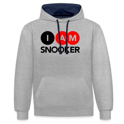I AM SNOOKER - Contrast Colour Hoodie