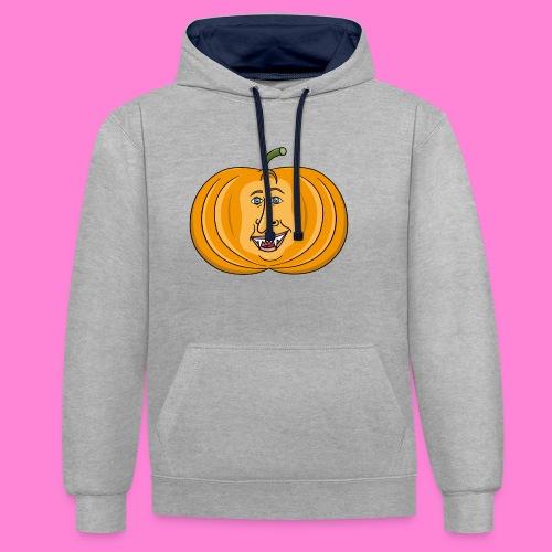 Rick pumpkin - Contrast hoodie