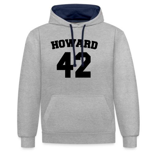 Beavers back - Contrast hoodie