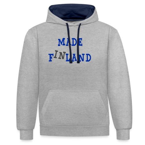 Made in Finland - Kontrastihuppari