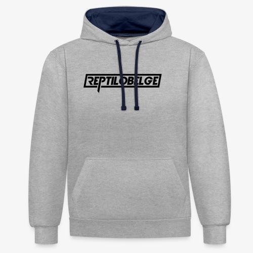 M1 Reptilobelge - Sweat-shirt contraste