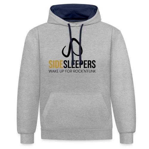 Sidesleepers - Kontrast-Hoodie