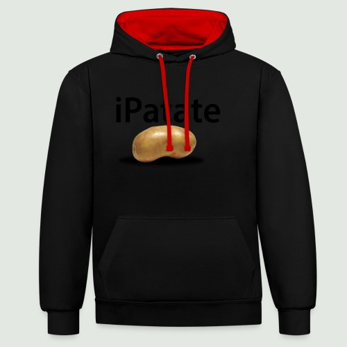 iPatate - Sweat-shirt contraste